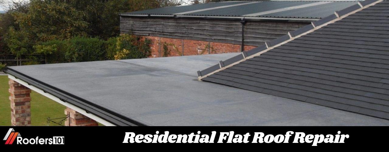 Residential Flat Roof Repair -Roofers101