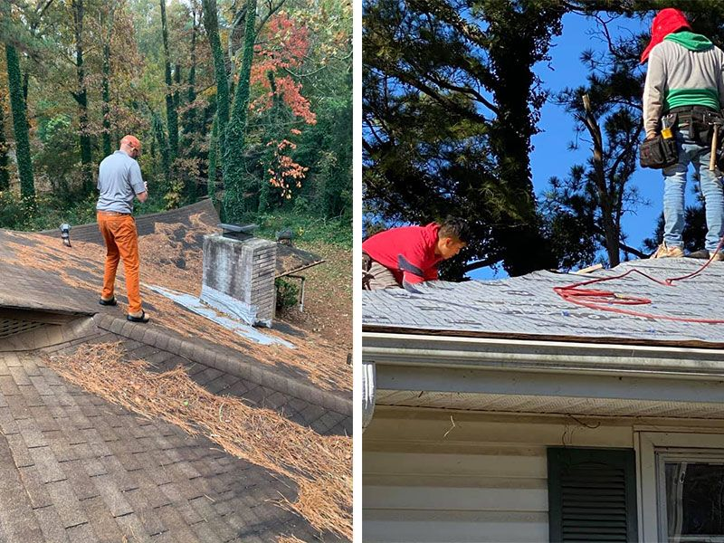 Flat Roof Repair Marietta GA