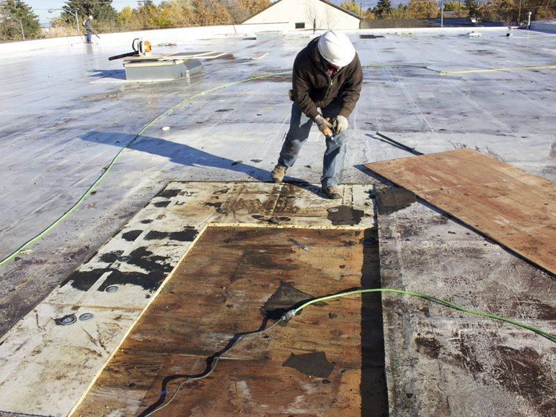 Flat Roof Repair Atlanta GA