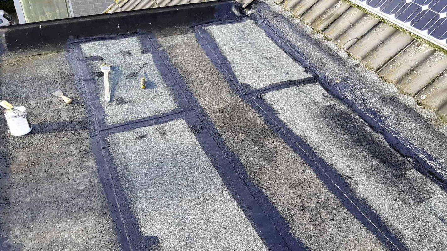 Flat Roof Repair Alpharetta GA