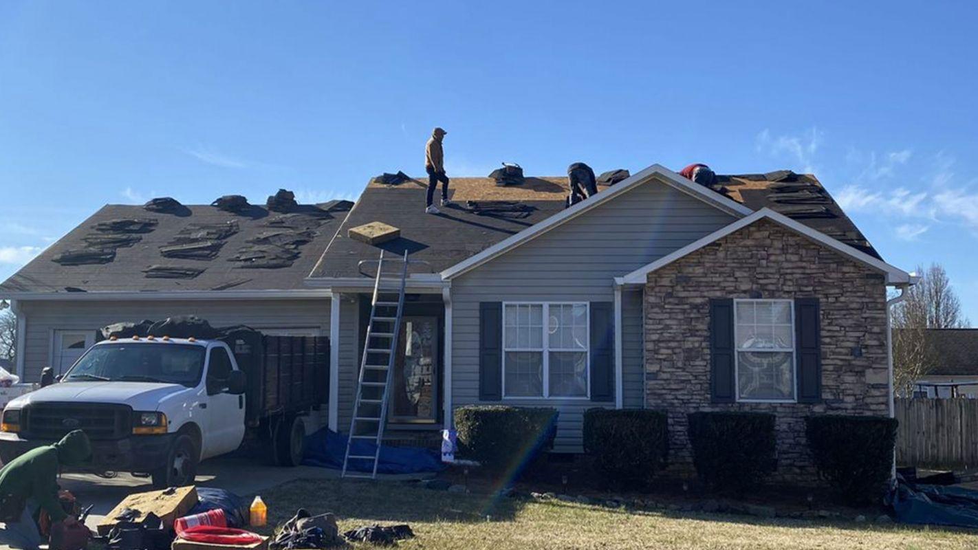 Roof Repair Services Huntersville NC