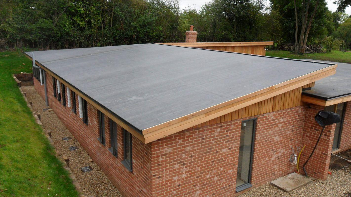Flat Roof Services Morganton NC
