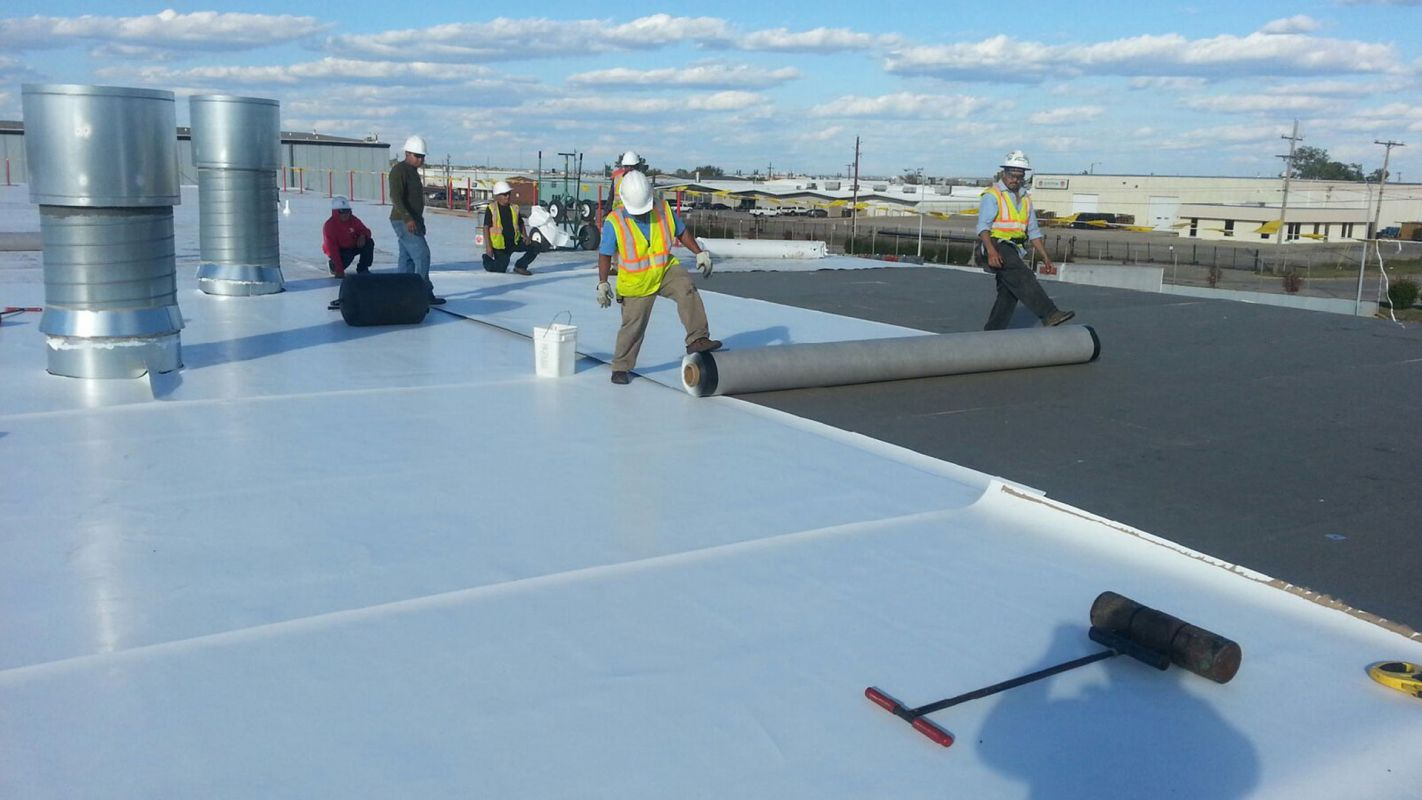 TPO Roofing Taylorsville NC