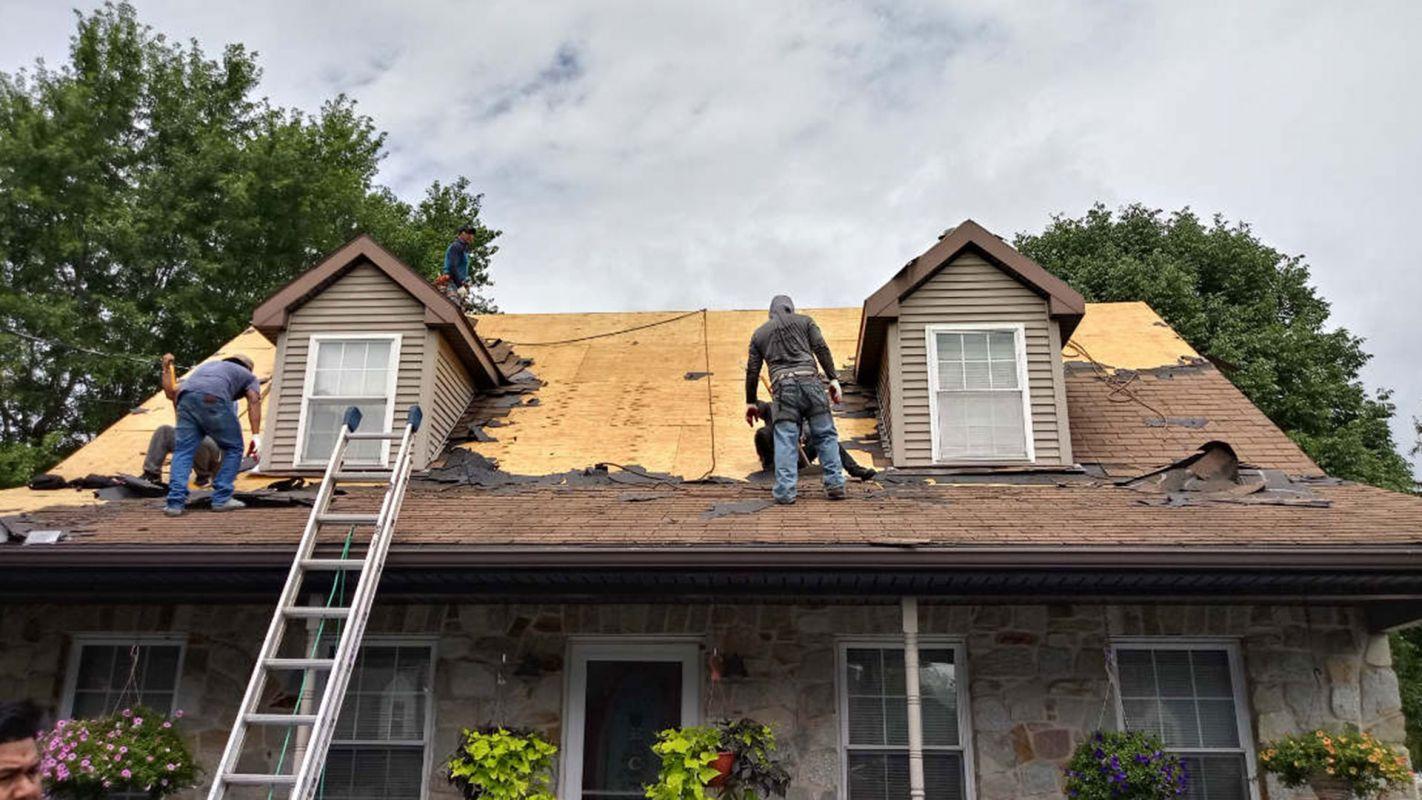 Roof Storm Damage Repair Sandy Hook CT