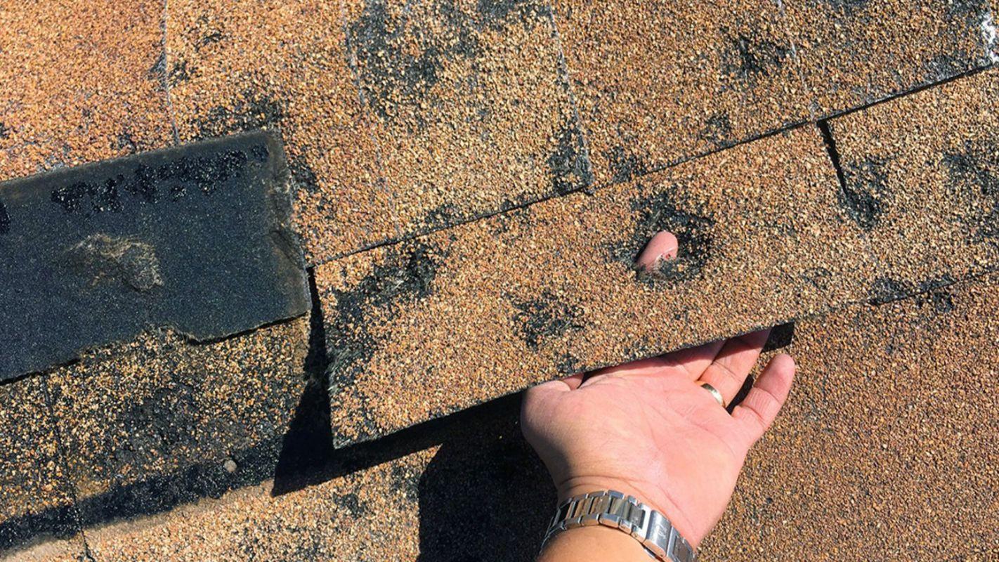 Roof Hail Damage Repair Sandy Hook CT