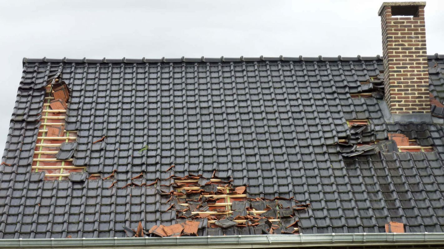 Roof Wind Damage Repair Newtown CT
