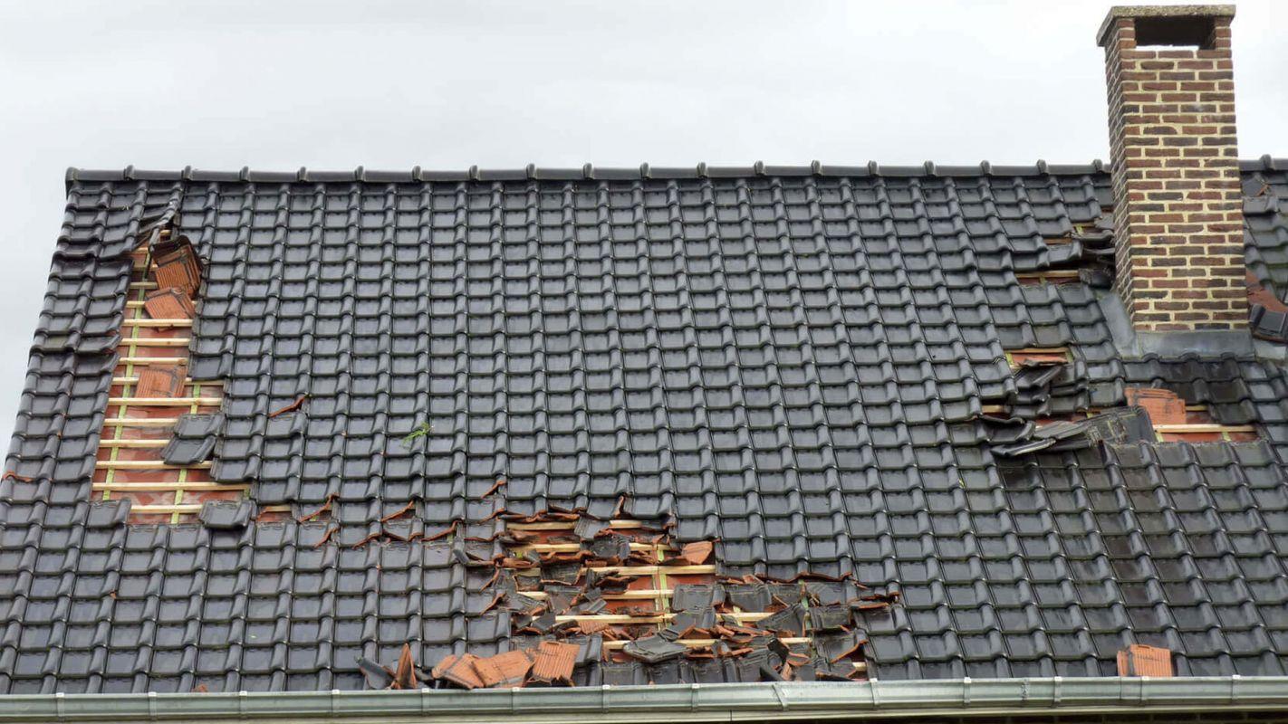 Roof Wind Damage Repair Sandy Hook CT